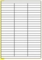 Custom Label 434 A4 BX100 69/sheet White 70x12