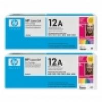 HP Toner 12A Q2612AD Black 2pack
