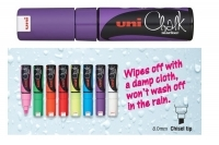 Uniball Liquid Chalk Marker 8mm PWE8KV Chisel  Violet