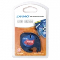 Dymo Letratag Labelling Tape PVC 91203 Red