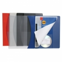 Marbig Premier Insert Flat Files 2054003BX A4 Red BX25