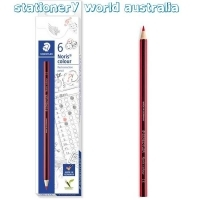 Staedtler 185 Red Correction Pencil Box of 6