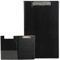 Marbig Clipboard Folder Foolscap PVC 4300502 Black