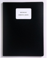 Marbig A4 Resume File 2007602 10pocket Black