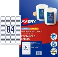 Avery Laser Label L7656REV 35mm Slide (84/sheet)PK25