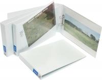 Bantex Insert Binder A3 Landscape 2D 25mm (200p) White