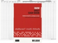 Wildon Daily Cash Book 360W 56Page GST Compliant