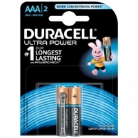 DuracelL Battery Ultra Alkaline AAA Card 2