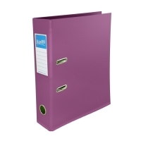 Bantex Lever Arch File PVC A4 Fruit Colours 1450-66 Plum