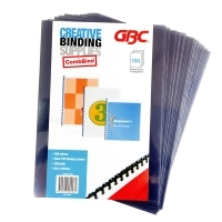 GBC CREATIVE BINDING COVERS A4 Clear 250micron PK100