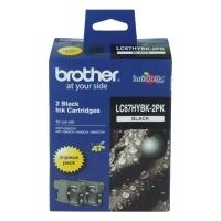 Brother Ink Cartridge LC67HYBK-2PK 2pack Black HiCapacity