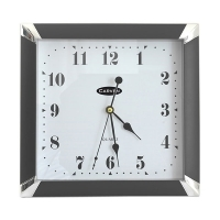 Carven Wall Clock 290mm Black 0346040
