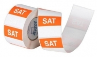 Avery Food Rotation Label 40mm SATURDAY Removable 500/Roll