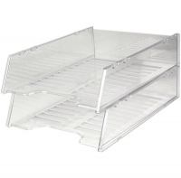 Document Tray Italplast Stackable i60 (Standard) Clear