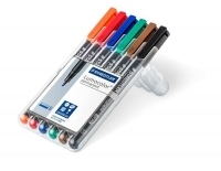 Staedtler 314 Lumocolor Pens Broad 314WP6 WLT6