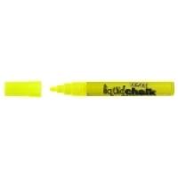 Texta Liquid Chalk Dry Wipe Marker 4.5mm Yellow