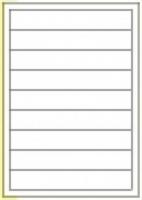 Custom Label 513 A4 BX100 9/sheet White 200x30
