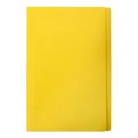 Marbig Manilla Folders Coloured Fcap BX100 Yellow