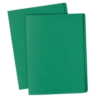 Avery Manilla Folders Coloured A4  BX100 Green