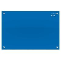 Quartet infinity Magnetic Glass Board Blue 900x600mm
