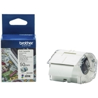 Brother CZ1005 Cassette White Label Roll 50mm wide x 5Mt long