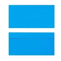 Quill Envelope 80gsm DL 110x220 Pack 25 - Marine Blue