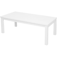 Rapid 50 Steel Frame Coffee Table Warm White Top 1200x600mm