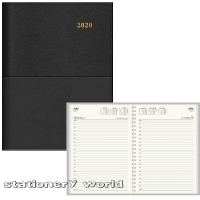 Collins Vanessa 145 Diary 2020 A4 1 Day/Page Black 145.V99