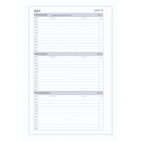 Dayplanner Refills DK1700 216x140 Weekly Dated 2020