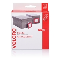 VELCRO® Brand Spot Dots Fastener Dots Only 22mm White
