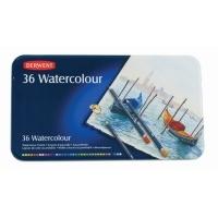 Derwent Watercolour Pencils tin36 Assorted R32885