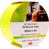 3M 983-23 REFLECTIVE TAPE Diamond 50mm x 3M Yellow/Green