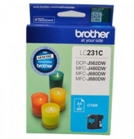 Brother Ink Cartridge LC231C Cyan