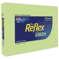 Reflex Tint Coloured Paper A3 80gsm Green Box of 3 Reams