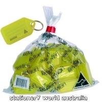 Kevron Key Tags - ID30 Giant Clicktags PK25 Yellow