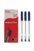 STAT Ballpoint Pens 1.0mm Medium BX12 Blue