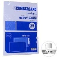 Cumberland Envelope 324x229 C4 StripSeal White 100g PK25