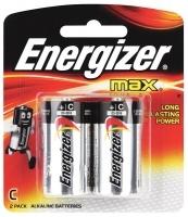 Energizer Max Battery Alkaline ( C ) Pkt2 E93BP2