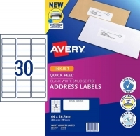 Avery Inkjet Label J8158 PK25 30/sheet