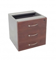 Rapid Manager Pedestal Fixed 3 Drawer 465Wx447Dx454H