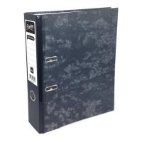 Bantex Lever Arch File Board Economy A4 Mottly-Black 28615