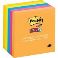 Post It Notes 654-5SSUC 76x76 Super Sticky PK5 Rio De Janeiro