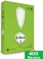 Brilliant A4 Paper 80gsm White F(80bxs:400reams) Full-Pallet