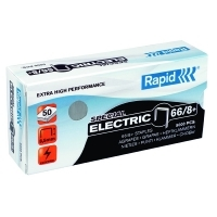 Rapid Staples 66/8 (8mm) Box 5000