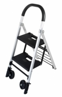 DURUS FOLDING 2 STEP LADDER / TROLLEY