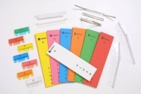 Crystalfile Suspension Tab Inserts PK50 Colours old-style