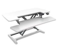 Rapid Flux Electric Desk Riser RF2 White
