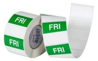 Avery Food Rotation Label 40mm FRIDAY Removable 500/Roll