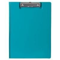 Marbig Clipboard Folder A4 PVC Summer Colours 4300604A Blue