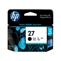 HP 27 Ink Cartridge C8727AA C872711 Black
